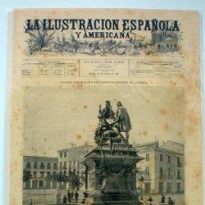 Coleccionismo de Revistas y Periódicos: LA ILUSTRACION ESPAÑOLA Y AMERICANA. Lote 33289391
