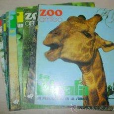 Coleccionismo de Revistas y Periódicos: LOTE DE 10 FASCICULOS DE ZOO AMIGO. EDITORIAL ROLLAN . 1974. Lote 33367989