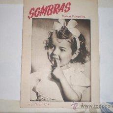 Coleccionismo de Revistas y Periódicos: SOMBRAS N.41 - REVISTA FOTOGRÁFICA, ABRIL 1947.. Lote 33380972