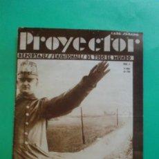 Coleccionismo de Revistas y Periódicos: PROYECTOR REPORTAJES SENSACIONALES DE TODO EL MUNDO Nº 6 14/06/1930 - EL CRIMEN DE ARO. Lote 33390318