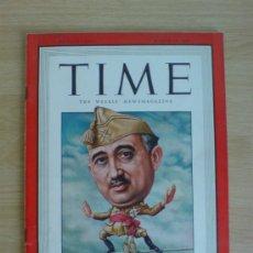 Coleccionismo de Revistas y Periódicos: REVISTA TIME AÑO 1946 (PORTADA FRANCISCO FRANCO). Lote 226403120