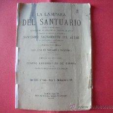 Coleccionismo de Revistas y Periódicos: DON LUIS DE TRELLES Y NOGUEROL.-LA LAMPARA DEL SANTUARIO.-AÑO 1891.. Lote 33392306