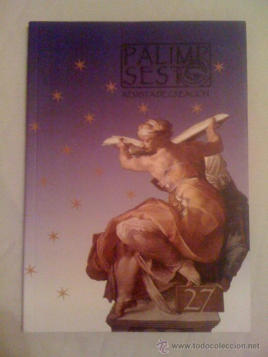 REVISTA PALIMPSESTO 27 (2012) (Coleccionismo - Revistas y Periódicos Modernos (a partir de 1.940) - Otros)