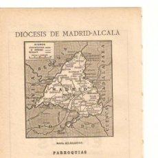 Coleccionismo de Revistas y Periódicos: HOJAS REPORTAJE.AÑO 1919.MADRID-ALCALA.DIOCESIS.PRUDENCIO MELO ALCALDE.LIBRERIA RELIGIOSA HERNANDEZ.. Lote 33426859