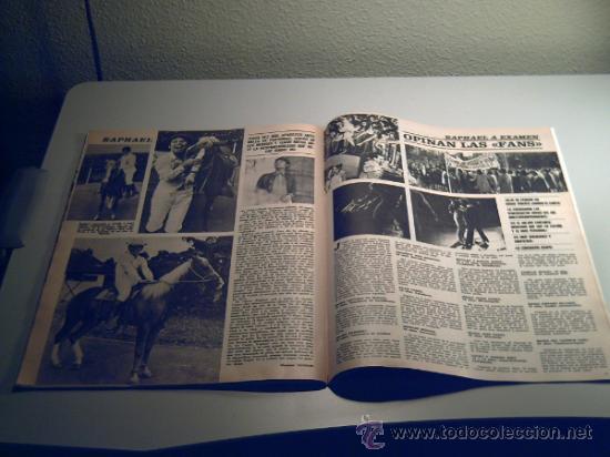 Coleccionismo de Revistas y Periódicos: REVISTA SEMANA -7 DICIEMBRE 1968 - RAPHAEL - PINITO DEL ORO - Foto 3 - 33480240