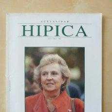 Coleccionismo de Revistas y Periódicos: ACTUALIDAD HIPICA Nº 0 .ABRIL 1994. Lote 33496756