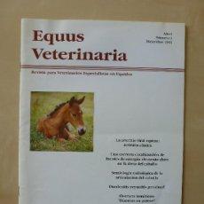 Coleccionismo de Revistas y Periódicos: EQUUS VETERINARIA;REVISTA PARA VETERINARIOS ESPECIALISTAS EN EQUIDOS.Nº 2 (1993). Lote 33496858