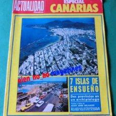 Coleccionismo de Revistas y Periódicos: LA ACTUALIDAD ESPAÑOLA AÑO 1972 ~ ESPECIAL CANARIAS ~ NÚMERO MONOGRÁFICO. Lote 33509796