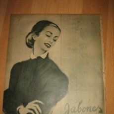 Coleccionismo de Revistas y Periódicos: PUBLICIDAD JABONES MERLICE HOJA REVISTA ABC 1949. Lote 33512768