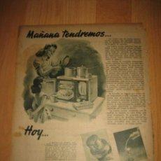 Coleccionismo de Revistas y Periódicos: PUBLICIDAD ANIS CASTELLANA HOJA REVISTA ABC 1949. Lote 33513196