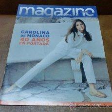 Coleccionismo de Revistas y Periódicos: REV. MAGAZINE 1/97. CAROLINA DE MONACO-AMPL.RPTJE.BARCELONA YA ES ARTE,MODA JOVEN,MONDEO 97. Lote 33530903