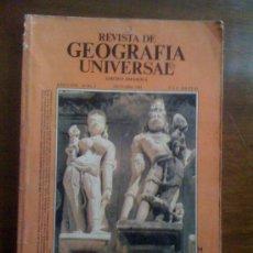 Coleccionismo de Revistas y Periódicos: REVISTA DE GEOGRAFÍA UNIVERSAL. AÑO 5, VOLUMEN 10. N° 4. Lote 33537615