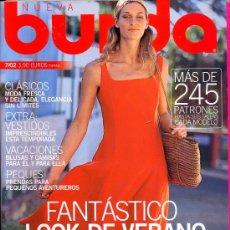Coleccionismo de Revistas y Periódicos: BURDA JULIO 2002. Lote 33545503