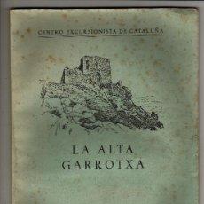 Coleccionismo de Revistas y Periódicos: CENTRO EXCURSIONISTA DE CATALUÑA LA ALTA GARROTXA 1960 JAIME TOLRÁ. Lote 33554227