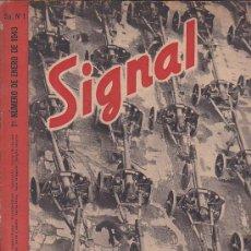 Coleccionismo de Revistas y Periódicos: REVISTA SIGNAL ENERO 1943 Nº 1 . Lote 33569995