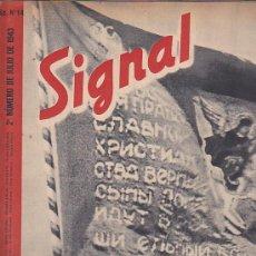 Coleccionismo de Revistas y Periódicos: REVISTA SIGNAL JULIO 1943 Nº 14. Lote 33570102