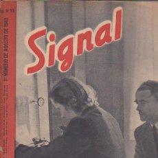 Coleccionismo de Revistas y Periódicos: REVISTA SIGNAL AGOSTO 1943 Nº 15. Lote 33570113