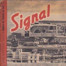 Coleccionismo de Revistas y Periódicos: REVISTA SIGNAL FEBRERO 1943 Nº 3. Lote 33570262