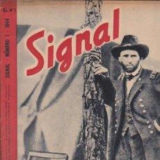 Coleccionismo de Revistas y Periódicos: REVISTA SIGNAL 1944 Nº 1. Lote 33570444