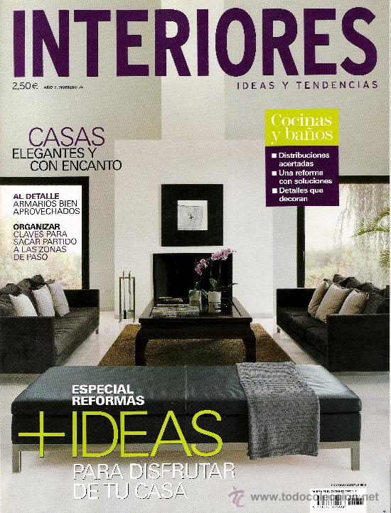 Interiores Ideas Y Tendencias N 75 Comprar Otras: revista interiores ideas y tendencias