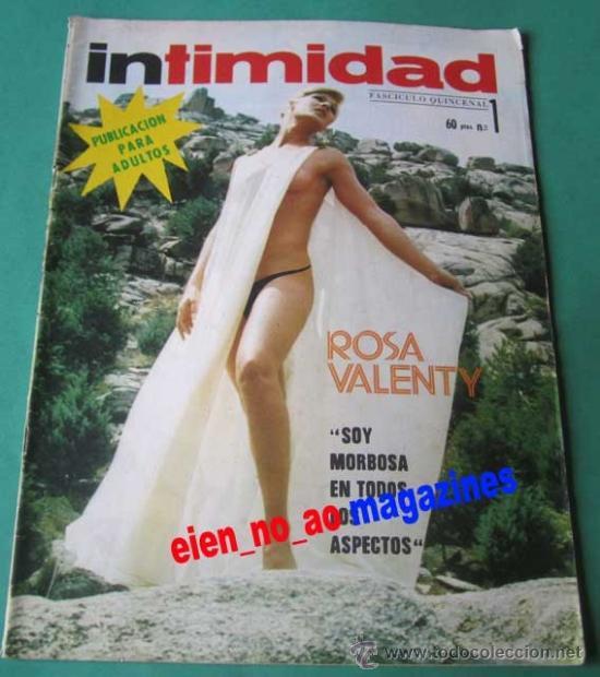 INTIMIDAD Nº 1 /1976 ~ ROSA VALENTY ~ REVISTA MONOGRÁFICA 36 PÁGINAS (Coleccionismo - Revistas y Periódicos Modernos (a partir de 1.940) - Otros)
