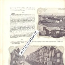Coleccionismo de Revistas y Periódicos: REVISTA.AÑO 1901.FOTOS ANTIGUAS.FIESTA DEL PILAR.ZARAGOZA.CABEZUDOS.INUNDACION EN GANDIA.. Lote 33649145