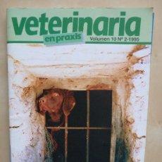 Coleccionismo de Revistas y Periódicos: VETERINARIA EN PRAXIS VOL 10 Nº2 1995. Lote 33668789
