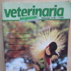 Coleccionismo de Revistas y Periódicos: VETERINARIA EN PRAXIS VOL 6 Nº1 1991. Lote 33668823