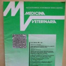 Coleccionismo de Revistas y Periódicos: MEDICINA VETERINARIA VOLUMEN 11. 7-8 .1994. Lote 33668857