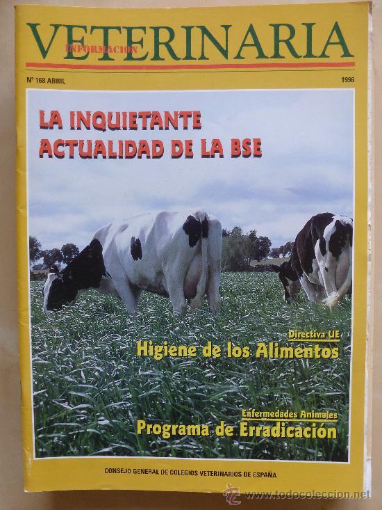 INFORMACION VETERINARIA Nº 168 . 1996 (Coleccionismo - Revistas y Periódicos Modernos (a partir de 1.940) - Otros)