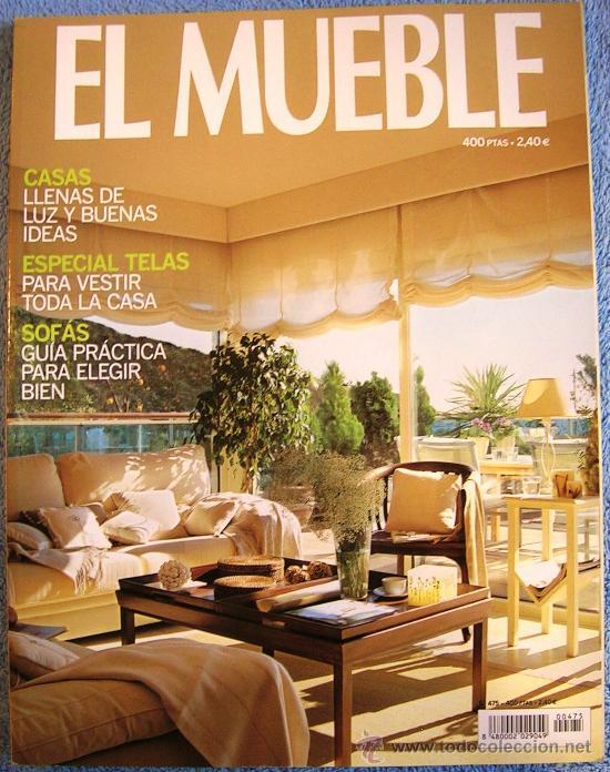 Revista el mueble n 475 casas llenas de luz comprar for Esquelas funeraria el mueble