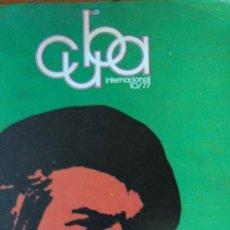 Coleccionismo de Revistas y Periódicos: CUBA INTERNACIONAL. NÚMERO 98, OCTUBRE 77.. Lote 33707544