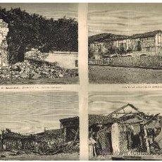 Coleccionismo de Revistas y Periódicos: AÑO 1880.TERREMOTOS FILIPINAS.MANILA.NAVEGACION.VELA.LITTLE WESTERN.. Lote 33730386