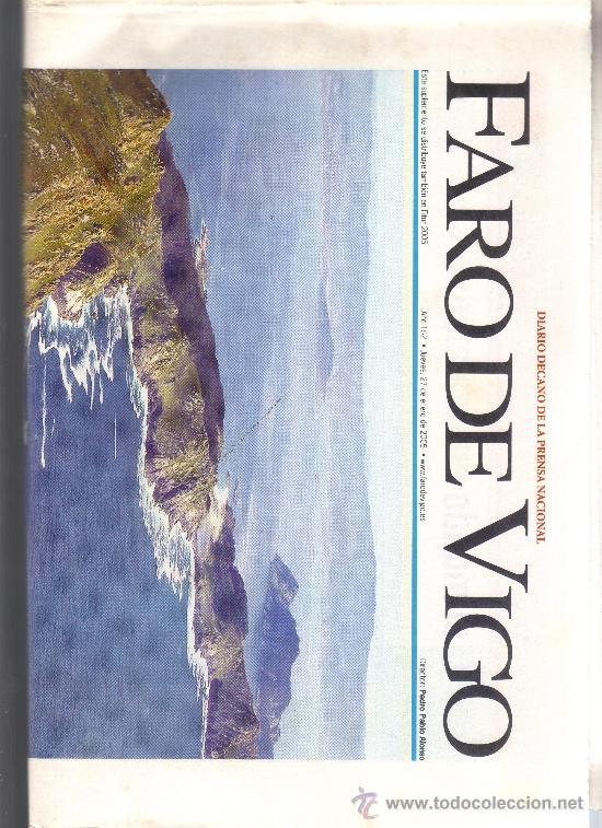 FARO DE VIGO - SUPLEMENTO 27 ENERO 2005 - GALICIA EN FITUR. (Coleccionismo - Revistas y Periódicos Modernos (a partir de 1.940) - Otros)
