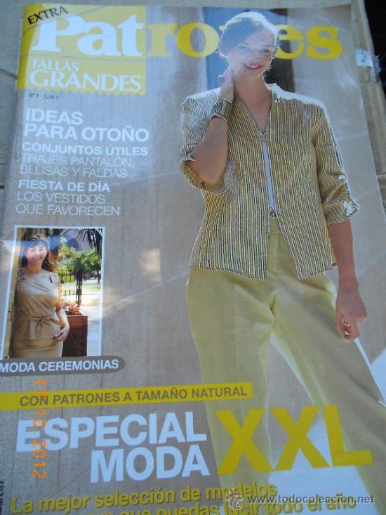 Revista Moda Extra Patrones 1 Tallas Grandes 2 Vendido En Venta Directa 33805413