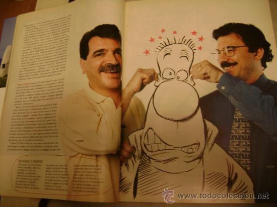 EL SEMANAL Nº 562 2 AGOSTO 1998 ASI SE FABRICA UN CHISTE FORGES GALLEGO Y  REY MINGOTE EL ROTO