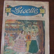Coleccionismo de Revistas y Periódicos: LISETTE - COMIC PARA NIÑAS - Nº 4 AÑO 1933 - PARIS FRANCES. Lote 33784488