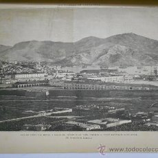 Coleccionismo de Revistas y Periódicos: LA ILUSTRACION ESPAÑOLA Y AMERICANA. 1886.GRABADO VISTA DEL PUERTO DE CARTAGENA(MURCIA). Lote 33824321