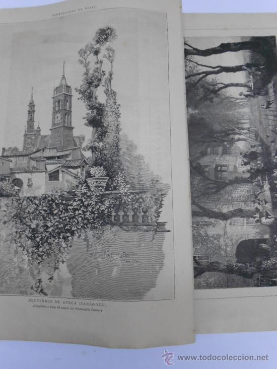 Coleccionismo de Revistas y Periódicos: LA ILUSTRACION ESPAÑOLA Y AMERICANA. 1886.GRABADO VISTA DEL PUERTO DE CARTAGENA(MURCIA) - Foto 3 - 33824321