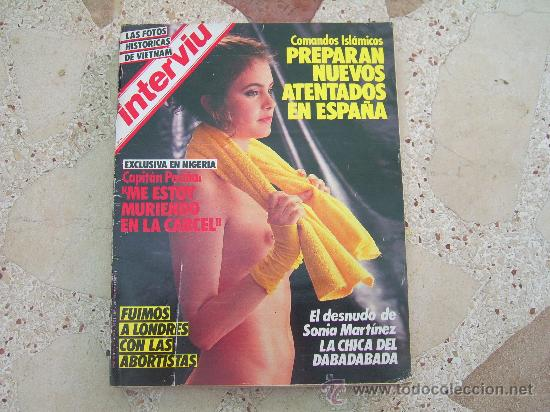 Interviu Nº 467 El Desnudo De Sonia Martinez Vendido En Venta