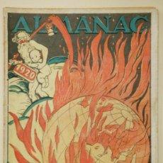 Coleccionismo de Revistas y Periódicos: ALMANAC LA CAMPANA DE GRACIA 1920. ALMANAQUE. ALMANACH. Lote 33926948