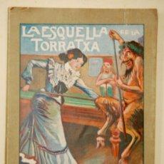 Coleccionismo de Revistas y Periódicos: ALMANAC L'ESQUELLA DE LA TORRATXA 1904. ALMANAQUE. ALMANACH. Lote 33928107