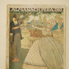 Coleccionismo de Revistas y Periódicos: ALMANAC L'ESQUELLA DE LA TORRATXA 1910. ALMANAQUE. ALMANACH. Lote 33928137