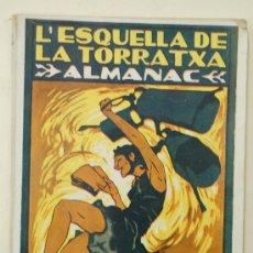 Coleccionismo de Revistas y Periódicos: ALMANAC L'ESQUELLA DE LA TORRATXA 1924. ALMANAQUE. ALMANACH. Lote 33929065