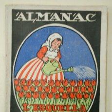 Coleccionismo de Revistas y Periódicos: ALMANAC L'ESQUELLA DE LA TORRATXA 1922. ALMANAQUE. ALMANACH. Lote 33929078