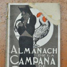 Coleccionismo de Revistas y Periódicos: ALMANAC LA CAMPANA DE GRACIA 1904. ALMANAQUE. ALMANACH. Lote 33929927