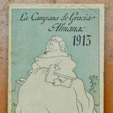 Coleccionismo de Revistas y Periódicos: ALMANAC LA CAMPANA DE GRACIA 1913. ALMANAQUE. ALMANACH. Lote 33930461