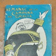Coleccionismo de Revistas y Periódicos: ALMANAC LA CAMPANA DE GRACIA 1912. ALMANAQUE. ALMANACH. Lote 33930476