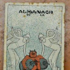 Coleccionismo de Revistas y Periódicos: ALMANAC LA CAMPANA DE GRACIA 1914. ALMANAQUE. ALMANACH. Lote 33930624