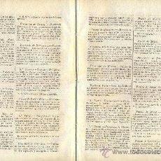 Coleccionismo de Revistas y Periódicos: PERIODICO.AÑO 1863.ARANJUEZ.COCA.ARENYS DE MAR.ULLDECONA.ALCIRA.LUCENA.MONTEFRIO.MOTRIL.BAEZA.ZAFRA.. Lote 33899657